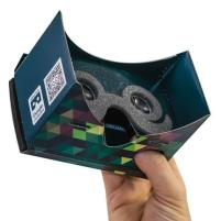 Designist, €19 - Pop 3 Google Cardboard Virtual Reality Viewer https://shop.designist.ie/products/virtual-reality-cardboard-toolkit