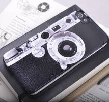 Not On The High Street, €21.51 - Vintage Camera Design iPhone Case http://www.notonthehighstreet.com/giantsparrows/product/retro-camera-cover-for-iphone