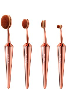 Iconic @ Harvey Nichols €49.99 - Rose Gold Makeup Brushes Set of 4