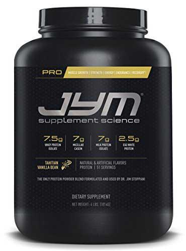 Jym Protein Flavor