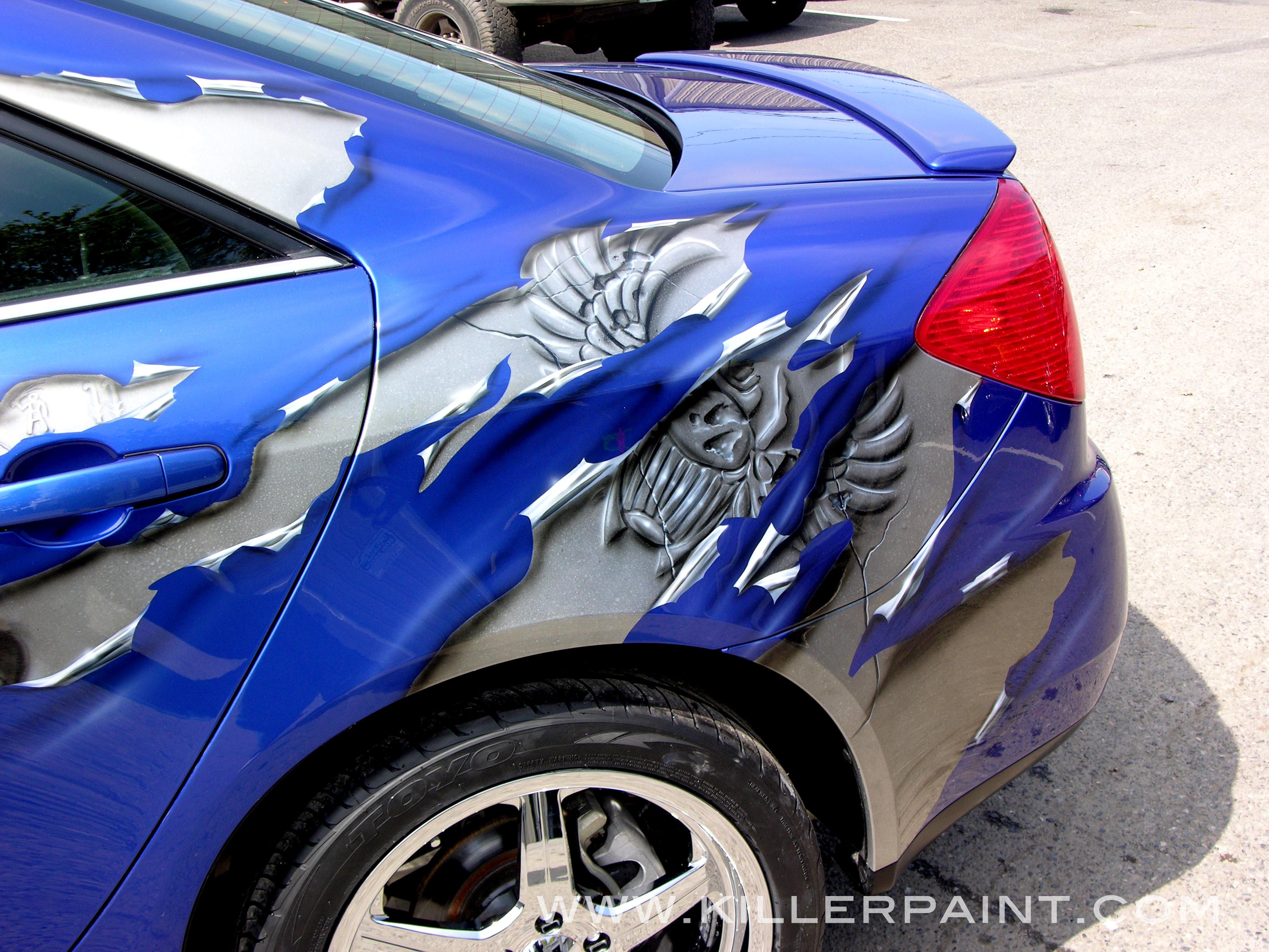 shreds  Killer Paint Airbrush Studio