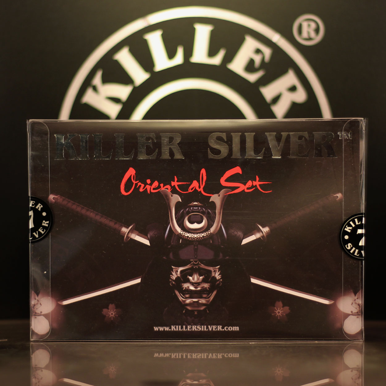 Oriental- Gray-wash set-4 bottles-4.4 oz-Killer Silver