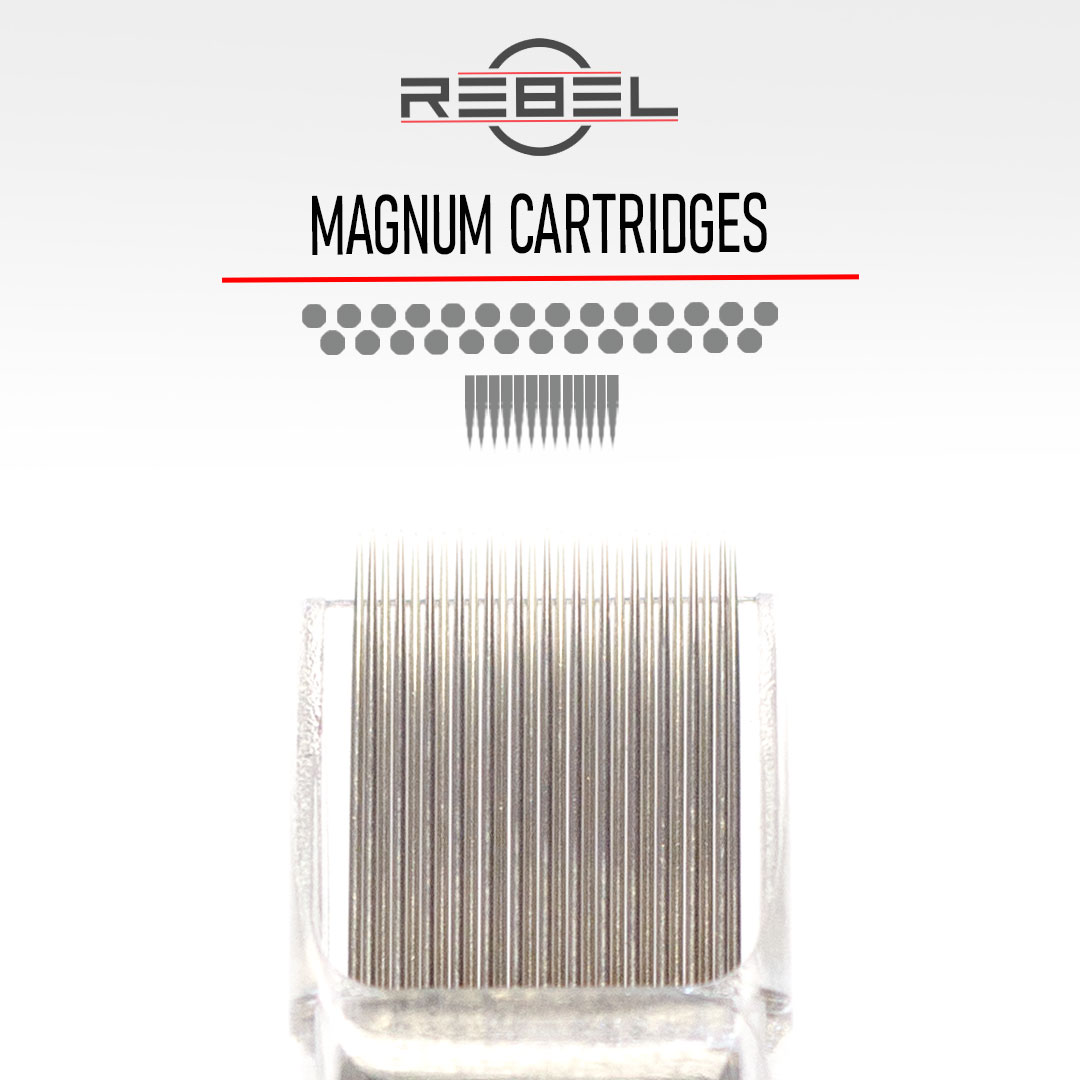 Magnum - Precision Tattoo Cartridges - REBEL