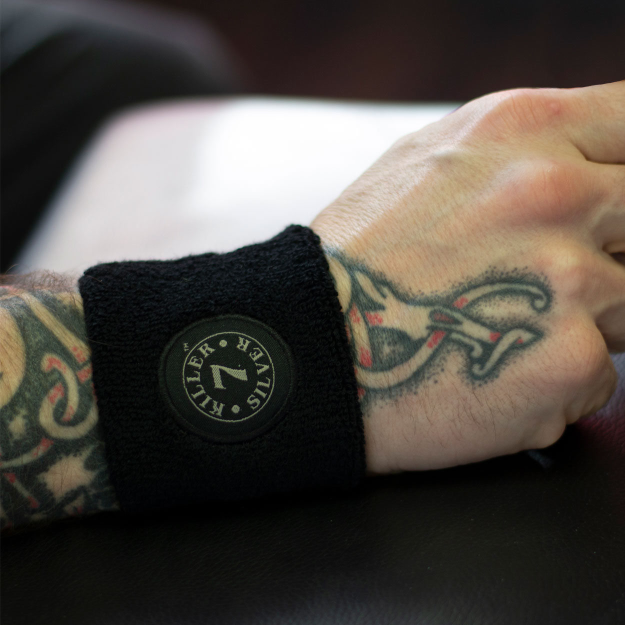 Wrist Band -Merchandise-Killer Silver