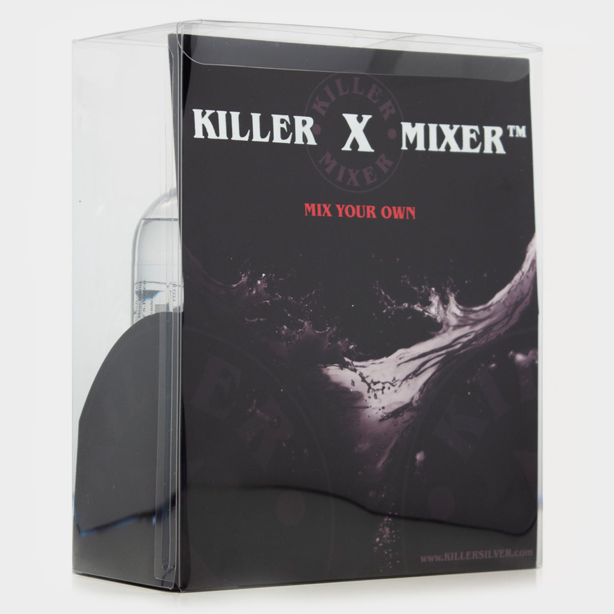 Killer X Mixer Combo Pack - Mix your own - 2 bottles - Gray wash mixing set - 8.5 oz - Killer Silver