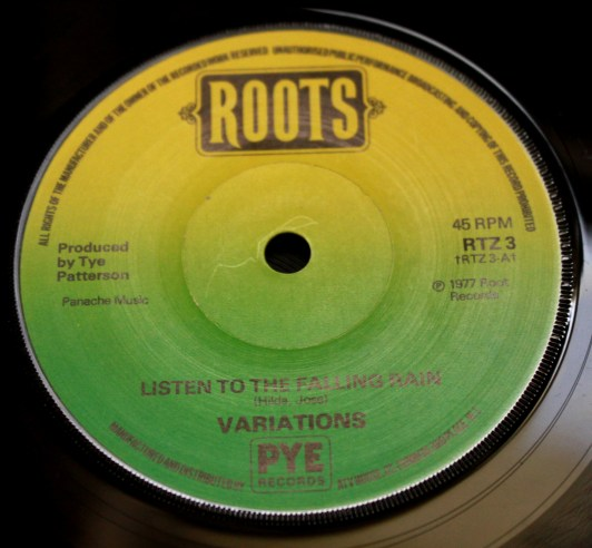 The Variations - Listen to the falling rain
