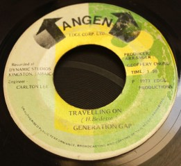 Generation Gap - Travelling on