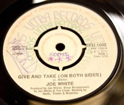 Joe White - Give and take