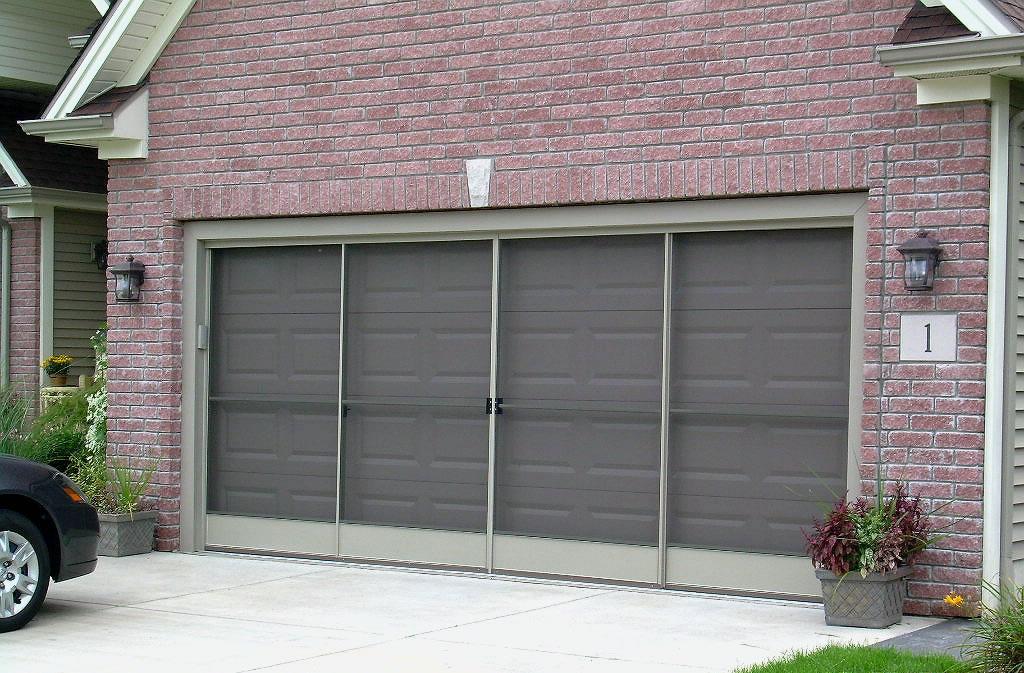 Sliding Garage Door Screens from Killians of Palm Coast FL