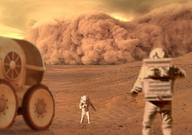 Dust_storm_on_planet_Mars