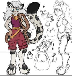 Biancamelle the Snow Leopard