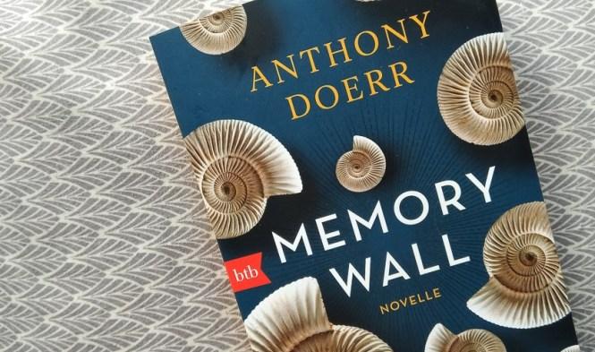 Anthony Doerr, Memory Wall