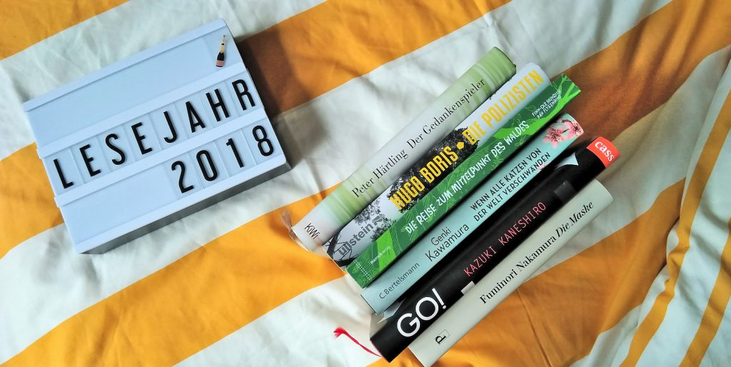 Mein Lesejahr 2018: Blogparade & Highlight-Bonanza!