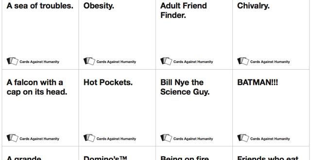 Image of: Meme Kill Screen Kill Screen Review Cards Against Humanity Kill Screen