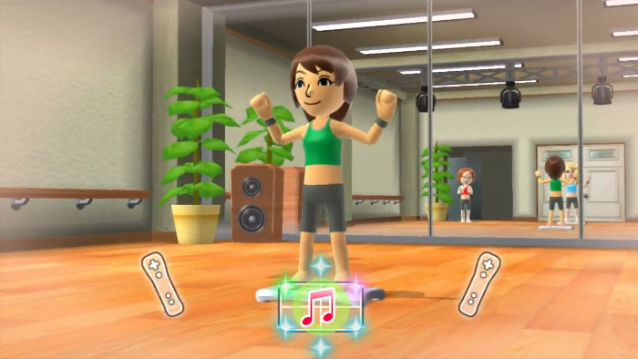 Wii fit u vs xbox fitness the exercise game cage match