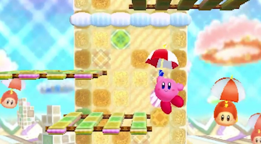 Kirby Triple Deluxe tests the blob's boundaries - Kill Screen