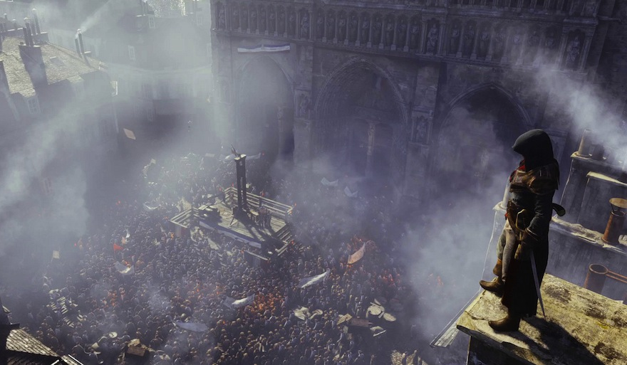 In Assassin's Creed Unity, the crowd is the main character - Kill Screen