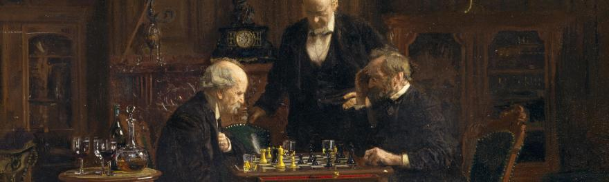 The_chess_players_thomas_eakins_5