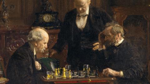 The_chess_players_thomas_eakins_5