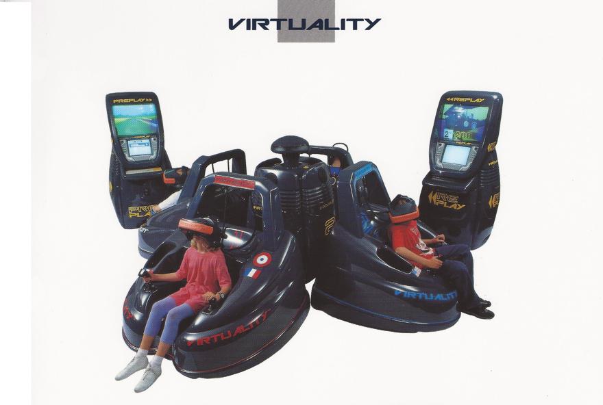 Arcade-Automaten der Virtuality Group