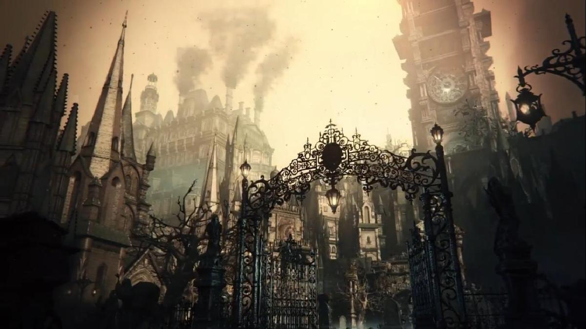 Hidetaka miyazaki s transcendent quest for beauty in for Yharnam architecture