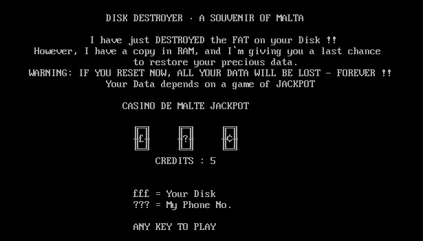Disk Destroyer