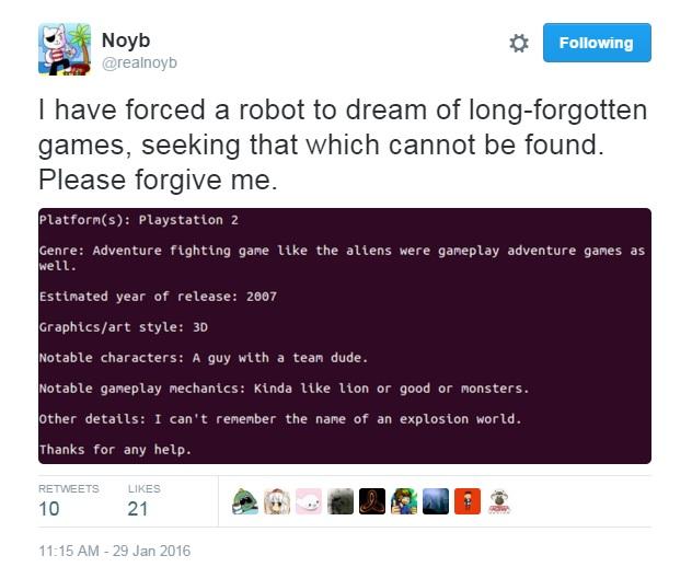 Forgotten Games bot