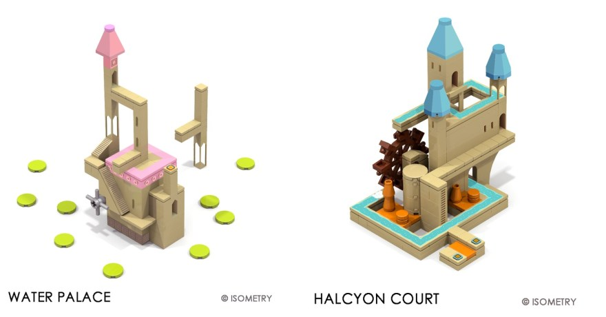 Monument Valley Lego