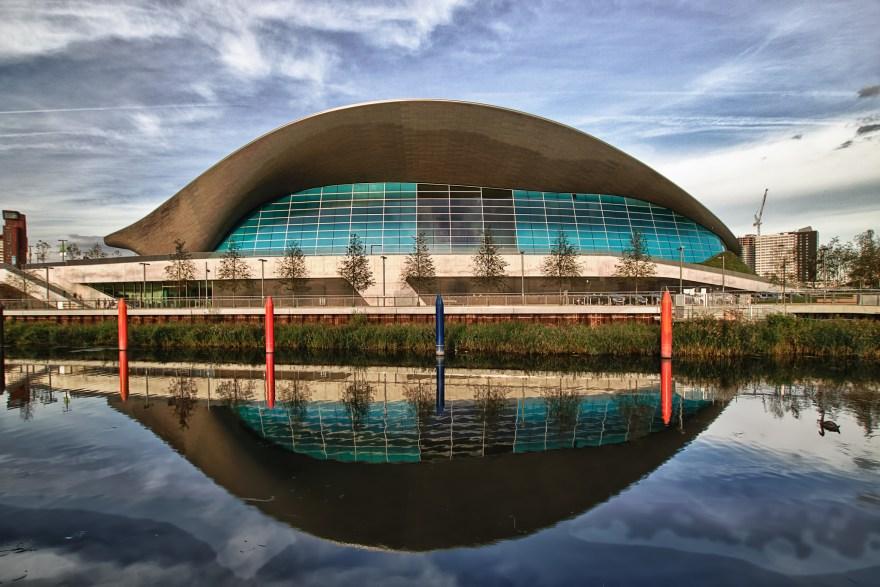 London Aquatics Centre — Artur Salisz (Flickr)