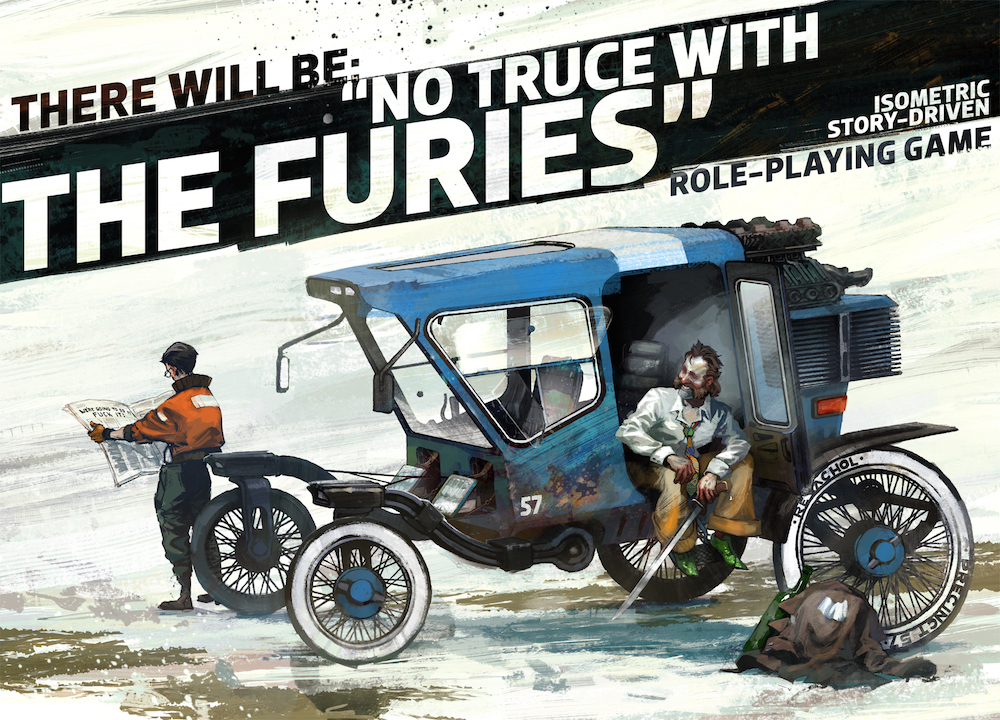 No Truce With The Furies is the isometric RPG to look out for
