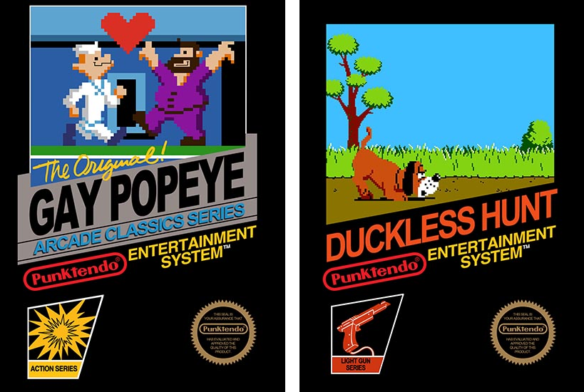 Gay Popeye and Duckless Hunt