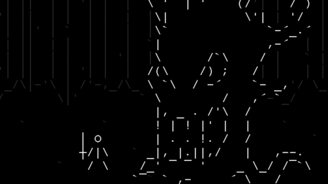 One Line Ascii Art Bat : Ascii archives kill screen