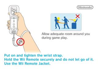 Wii Sports warning screen
