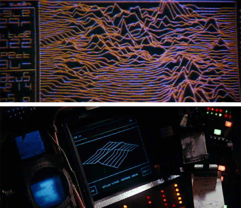 Interfaces from Alien