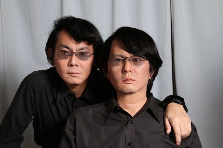 Dr. Ishiguro and his geminoid