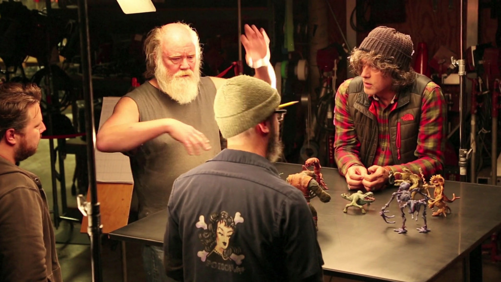 Phil Tippett resurrecting his Holochess set for Star Wars: The Force Awakens