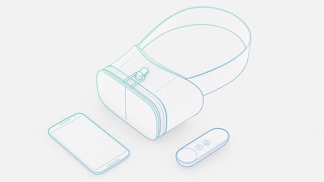Concept for Google's Daydream headset