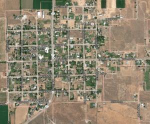 Paragonah, Utah, as viewed from Google Earth