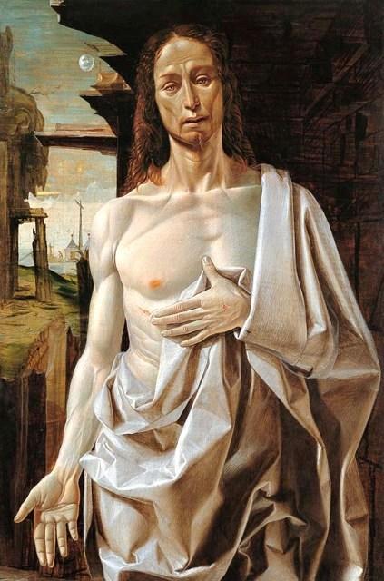 The Risen Christ, Bramantino (1490) - Museo Thyssen-Bornemisza