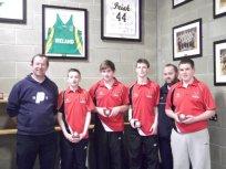 3 February 2011 Munster U-16 Division 1 Schools Champions 2011.