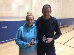 11 December 2016 Munster comp results Mixed G doubles r-up Edel Firth and James Hurton.