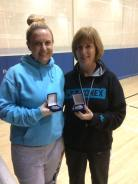 11 December 2016 Munster comp results Ladies G doubles r-up Edel Firth and Carol Walsh.