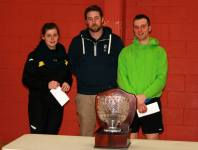 Section A Runners-Up. Gary and Gemma with Seamus.