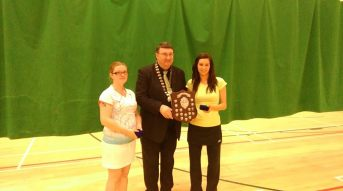 17 January 2016 Well done to Rachel who won the Graduate ladies singles in Killarney today.