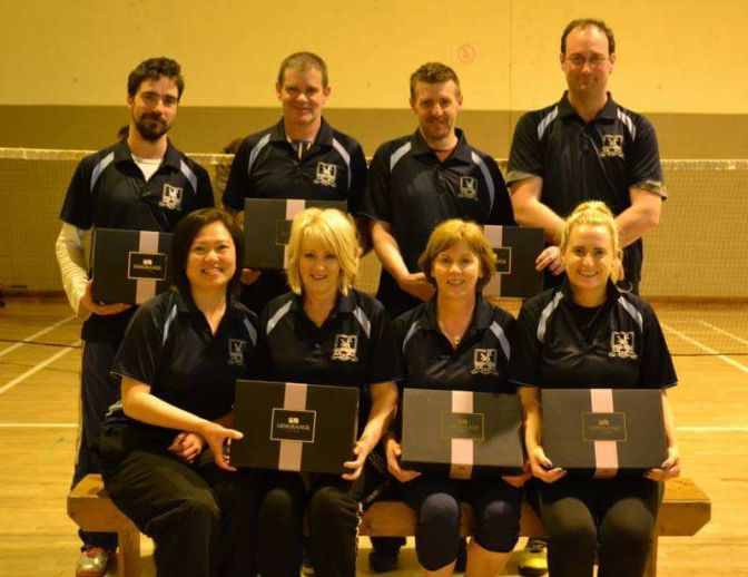 Well done to the Kilmac G team who won the mixed league last night!