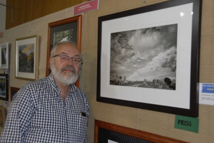 Peter Balow with his Best Local Photo