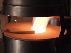 Kiln Flue Flame