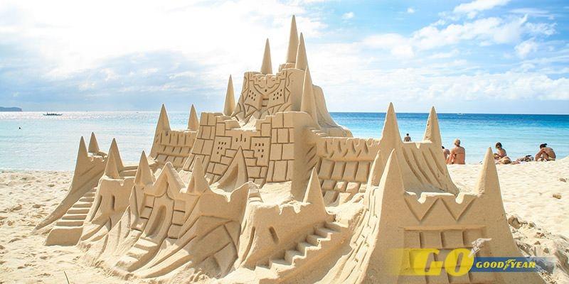 castillos arena
