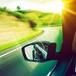 Retrovisor conducción preventiva