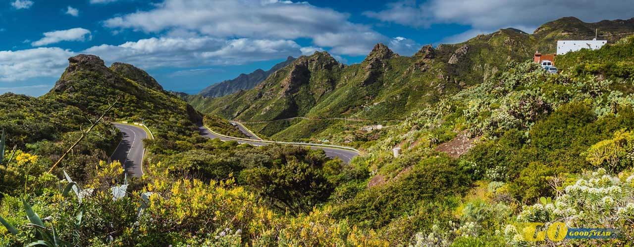 Carretera en Tenerife